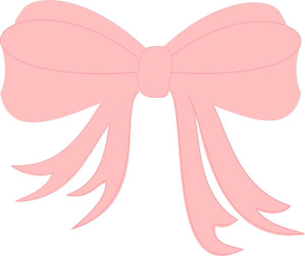 Pink Bow Clip Art at Clker.com.