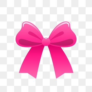 Pink Bow Png, Vector, PSD, and Clipart With Transparent.