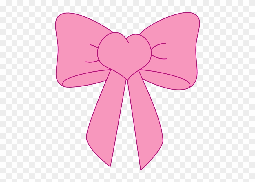 Pink Bow Clip Art Transparent Png Bows And.