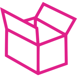 Barbie pink box 5 icon.