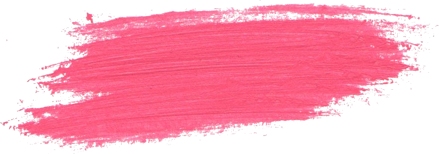 24 Pink Paint Brush Stroke (PNG Transparent).