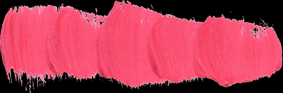 24 Pink Paint Brush Stroke (PNG Transparent).