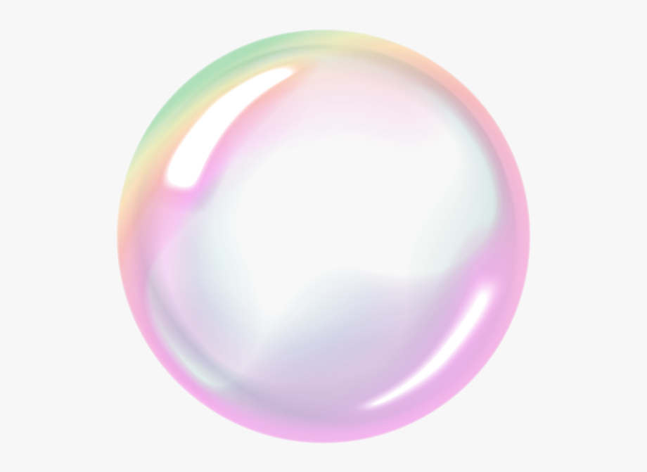 Bubbles Clipart Rainbow.