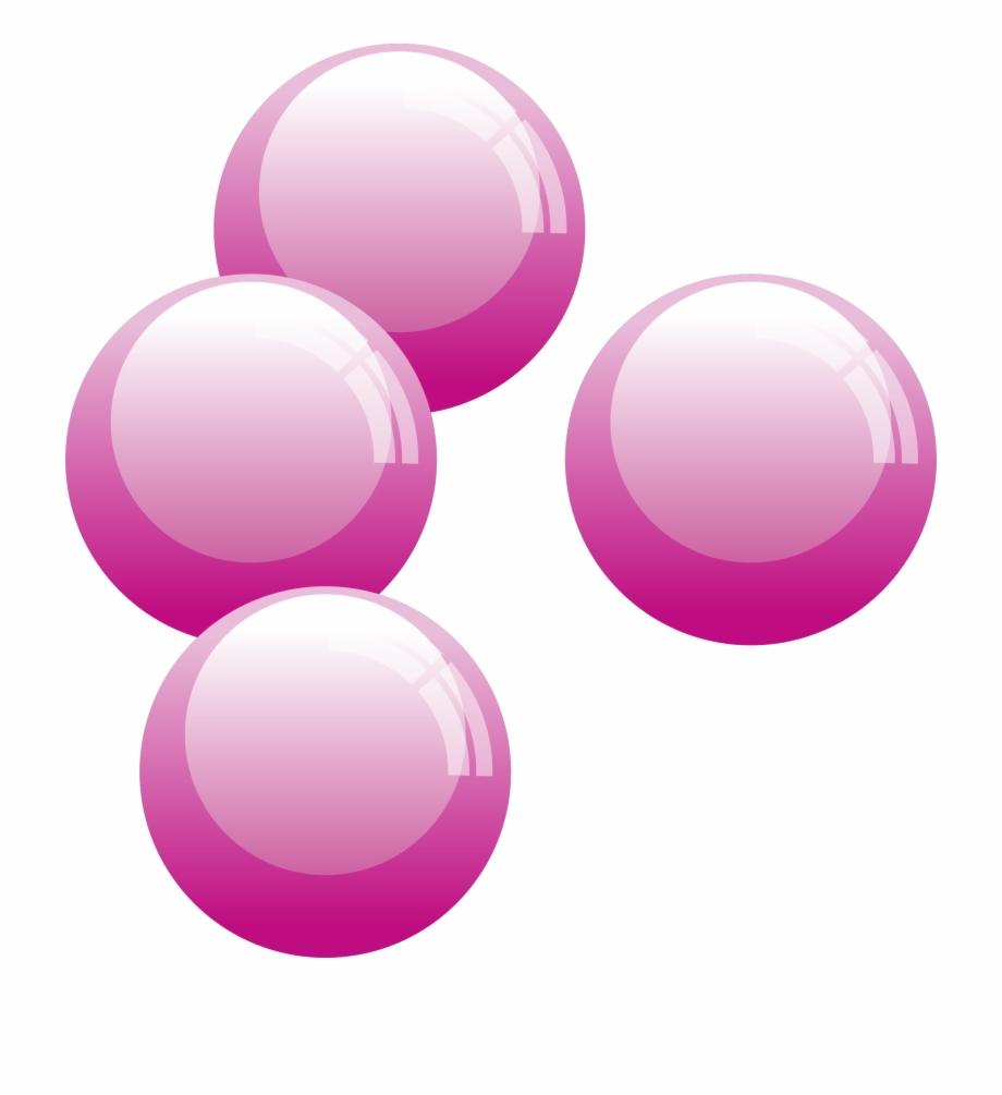 Bubble Png Pink Bubbles Clip Art.