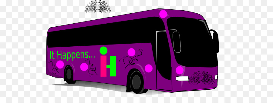Bus Cartoon clipart.