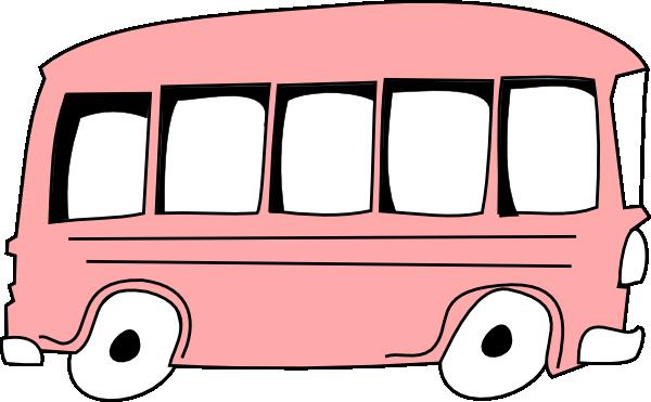 Pink Bus Clip Art at Clker.com.