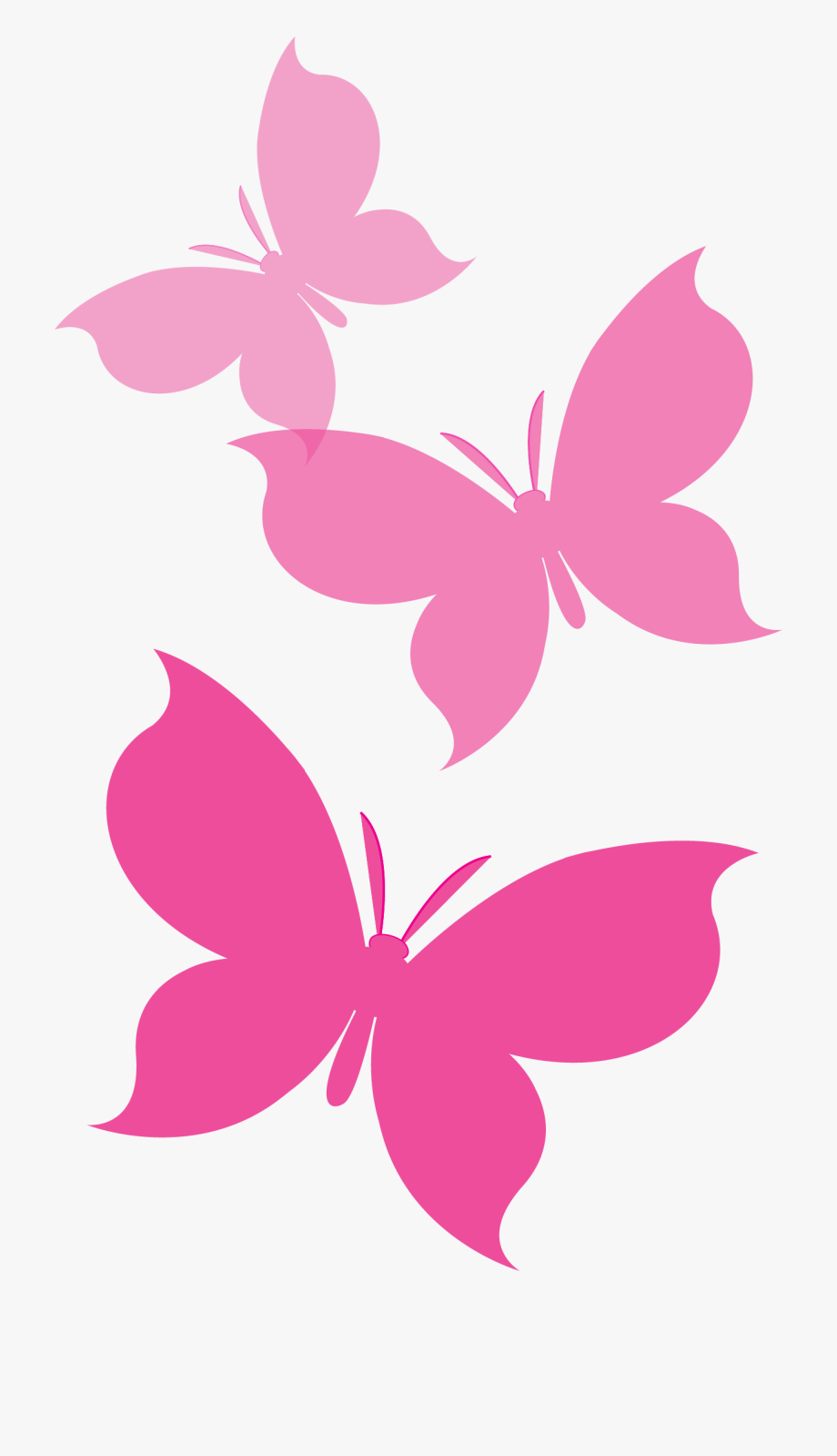 Your Journey, Our Promise Group Of Pink Butterflies.
