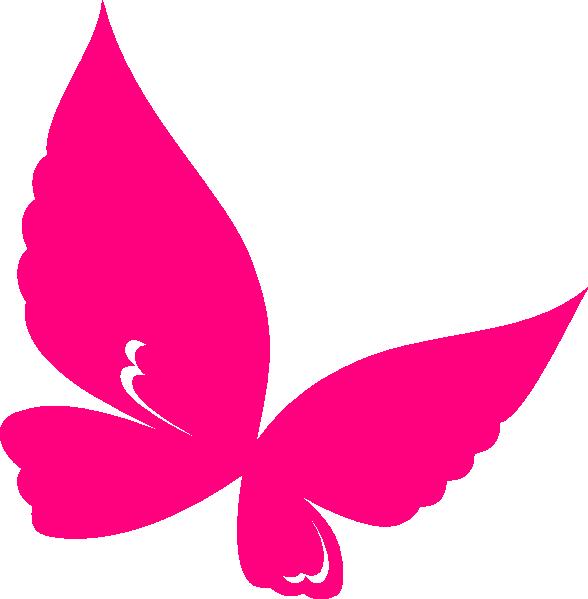 Butterfly Pink Clip Art at Clker.com.