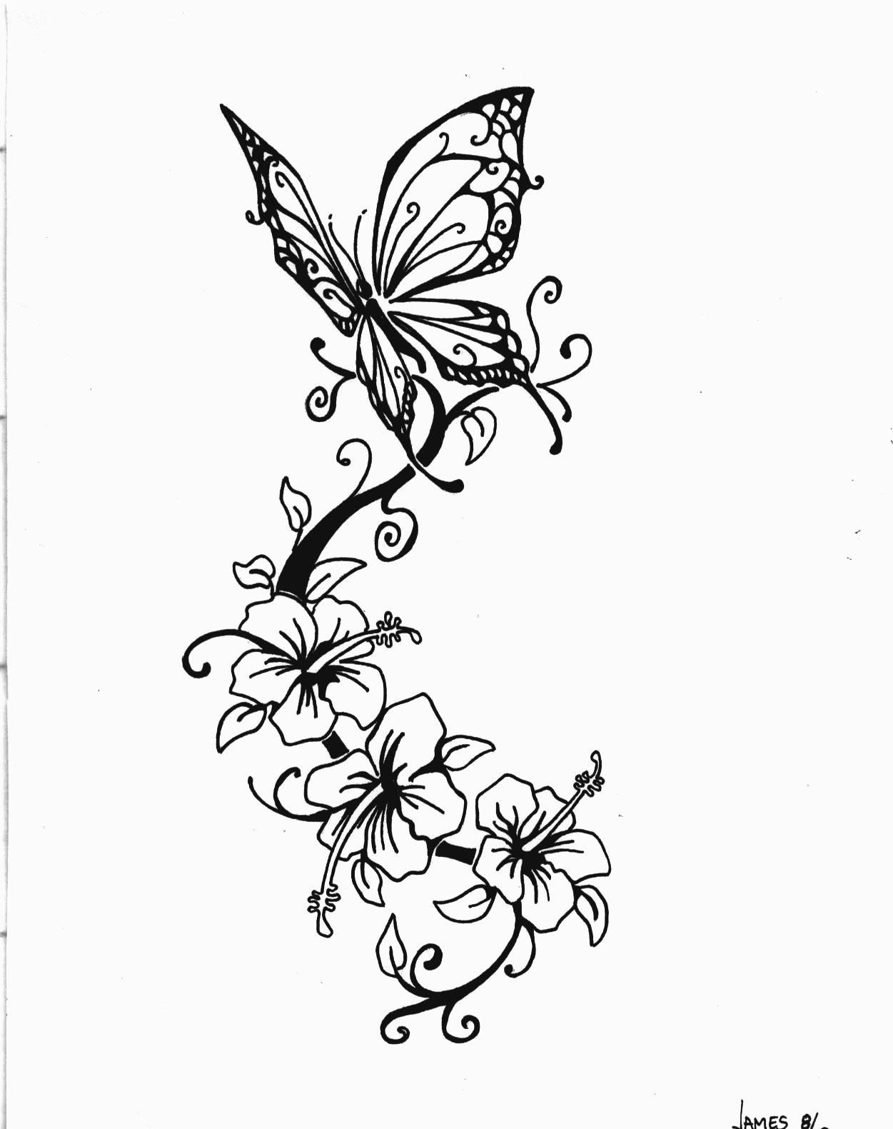 pyrography of butterflys.