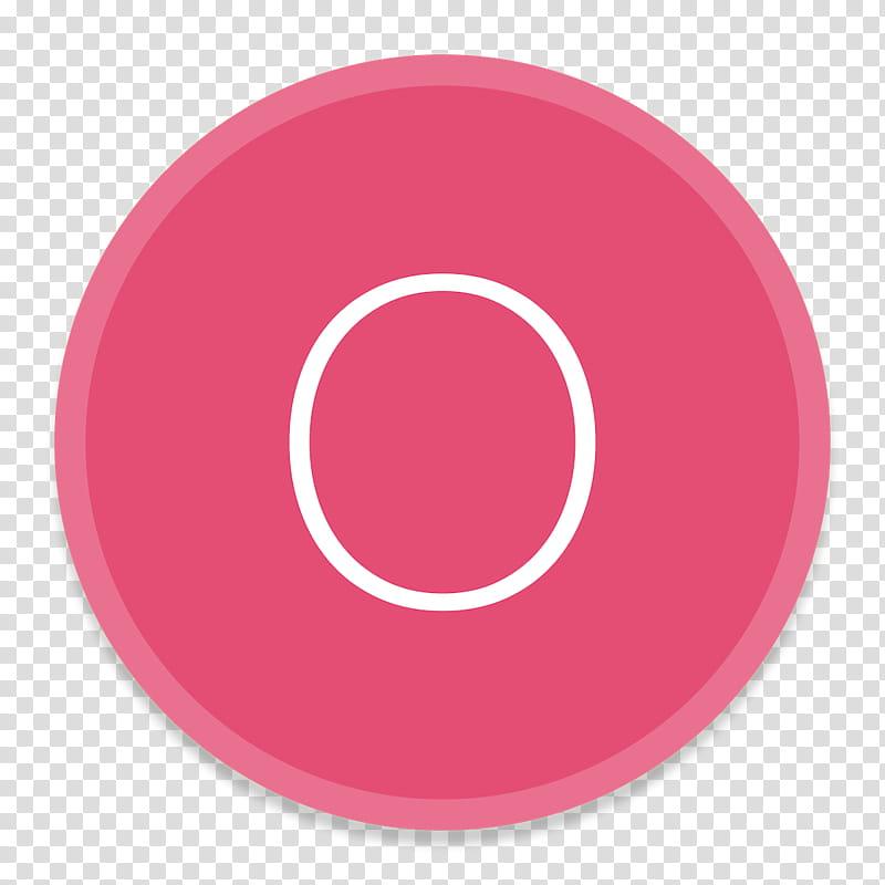 Button UI Microsoft Office Apps, round pink button.