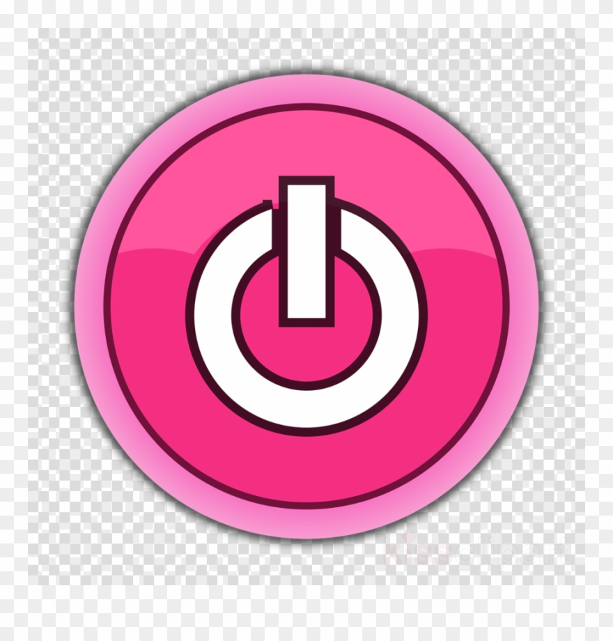 Pink Power Button Clipart Computer Icons Button Clip.