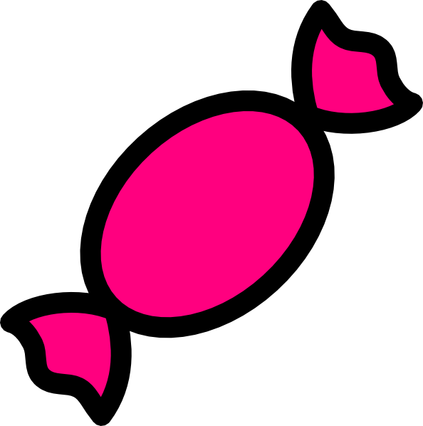 Pink Candy Clip Art at Clker.com.