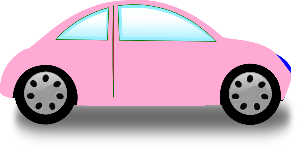 Soft Pink Car Clip Art at Clker.com.