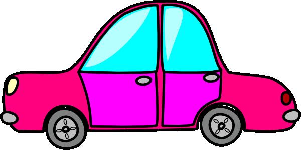 Pink Car Clip Art at Clker.com.