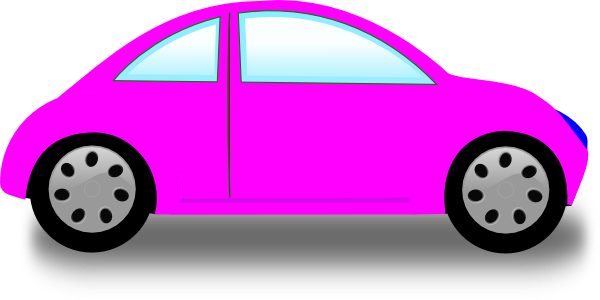 Pink Car Clip Art at Clker.com.