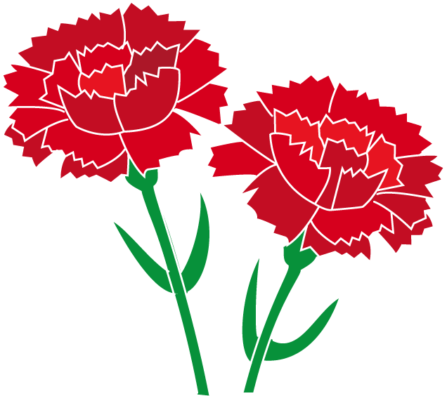 Pink Carnation Clipart.