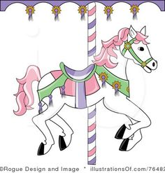 carousel horse svg free download.