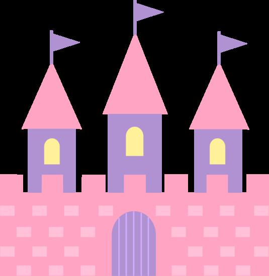 Cute Pink Princess Castle.