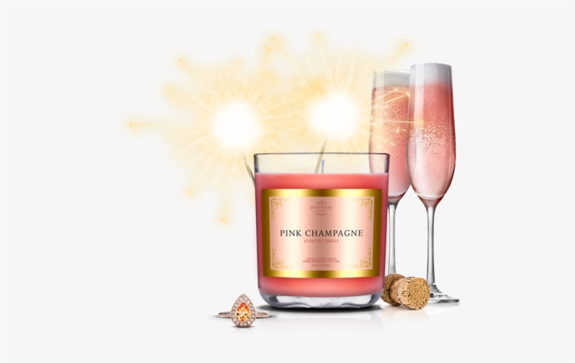 Pink Champagne Png.