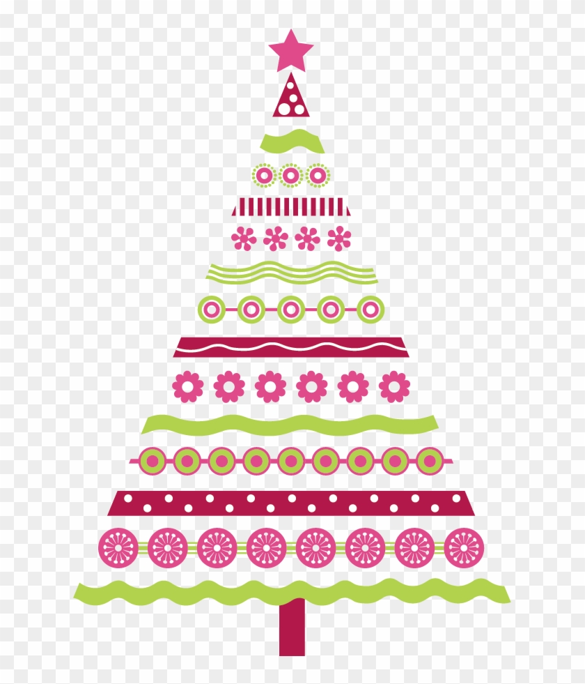 Pink Christmas Tree Clipart 101 Clip Art For Pink Christmas.