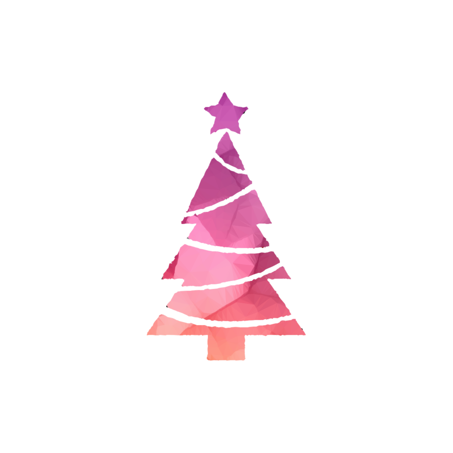 Christmas Tree Cartoon clipart.