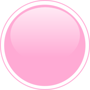 Glossy Pink Circle Button PNG, SVG Clip art for Web.