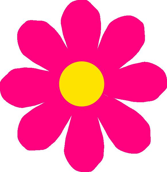 49+ Pink Flower Clipart.