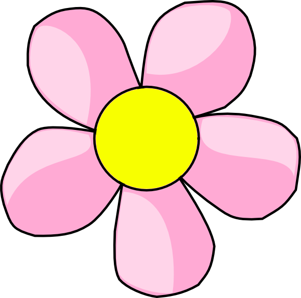 Pink Flowers Clipart Flower Png.