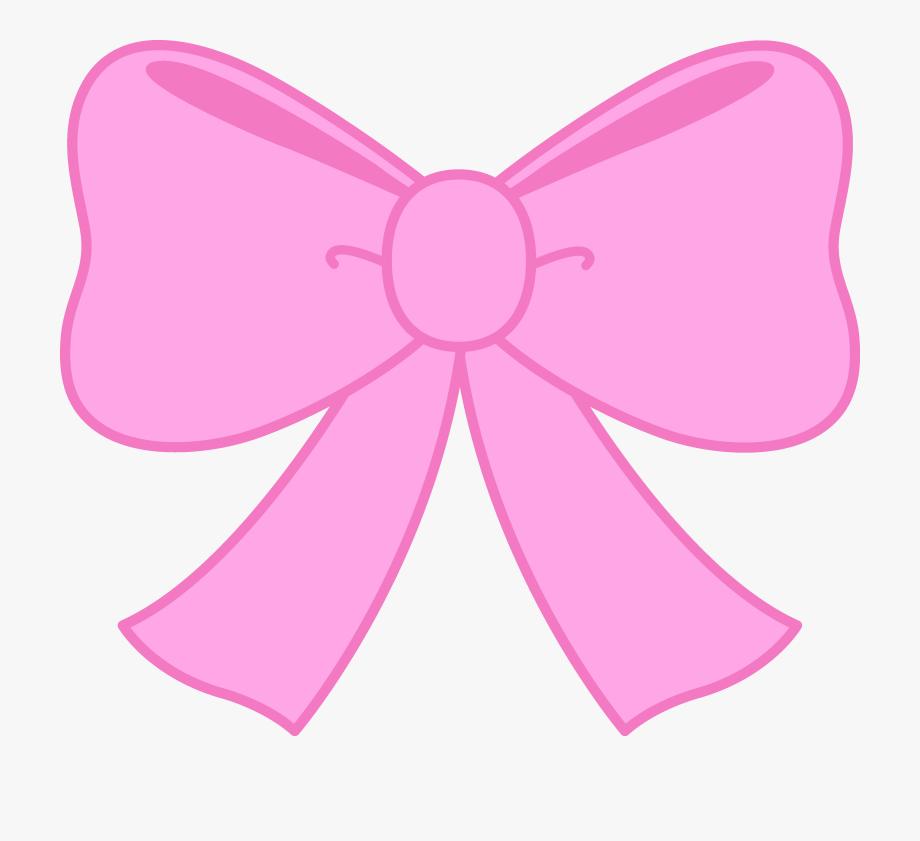 Cute Pink Bow Clipart Free Clip Art.