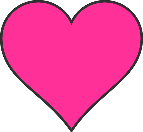 Pink Hearts Clipart Free Clipart Images.