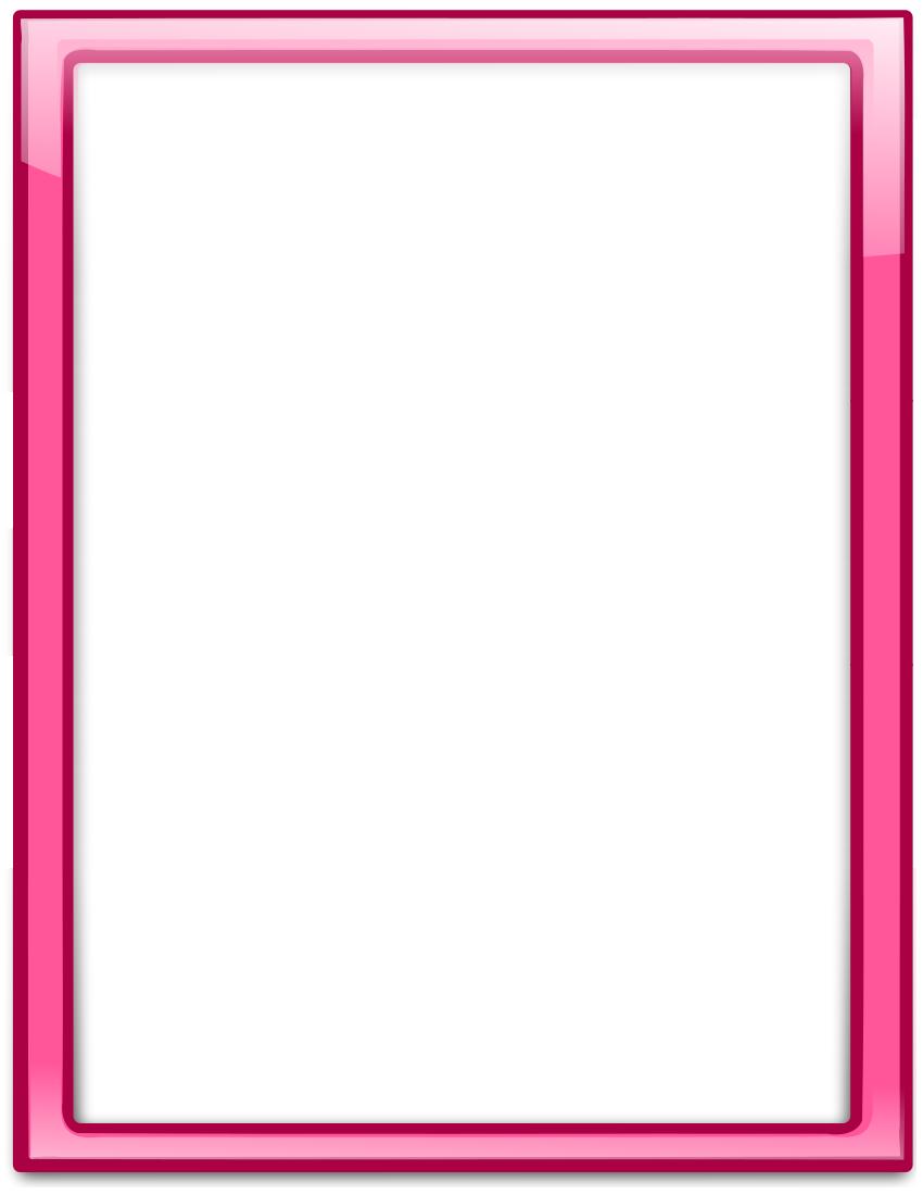 glass frame pink vertical.