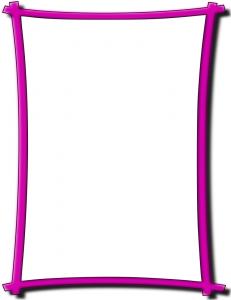 Bold Frame Pink Clip Art Download.