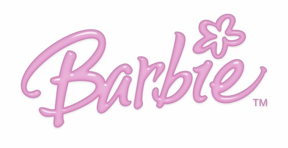 Ideas Pink Barbie Logos Transparent Png Clipart Free.
