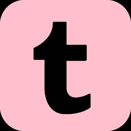 Free pink tumblr icon.