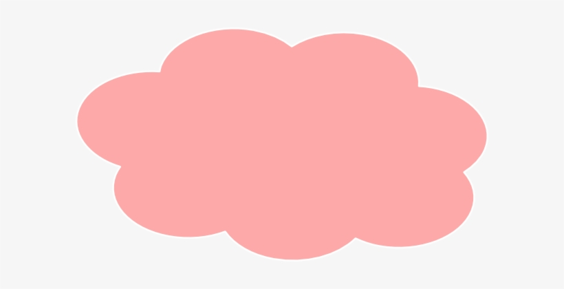 Clouds Clipart Pink Cloud.