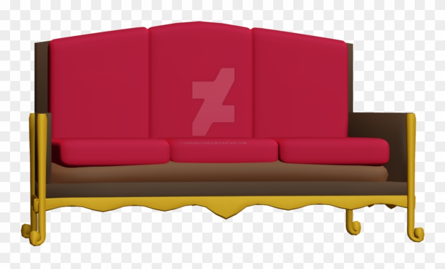 Couch Clipart Pink Couch.