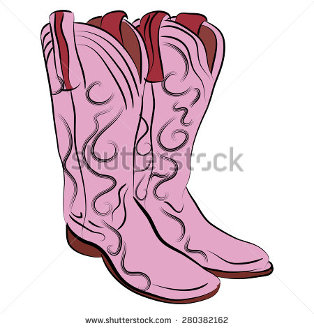Cowgirl Boots Stock Images, Royalty.