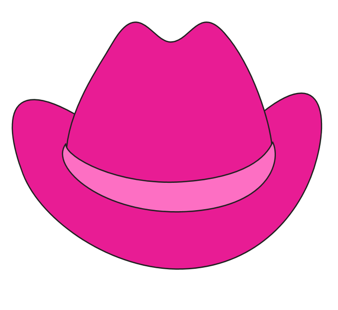 52+ Cowgirl Hat Clipart.