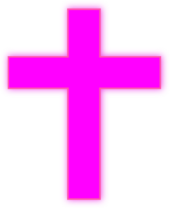 Pink Cross Clip Art at Clker.com.