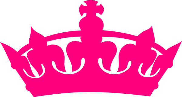 Hot Pink Crown Clip Art at Clker.com.