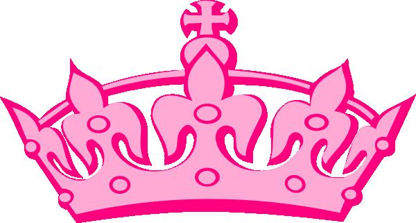 15+ Pink Crown Clip Art.