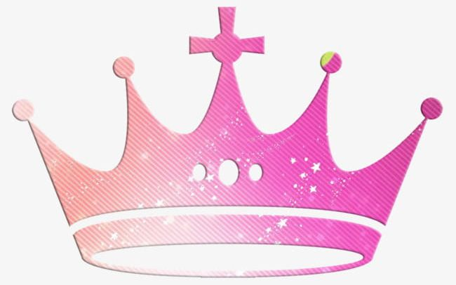 Pink Crown Material PNG, Clipart, Cartoon, Cartoon Crown.