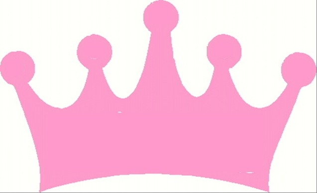 Pink crown clipart 2 » Clipart Station.