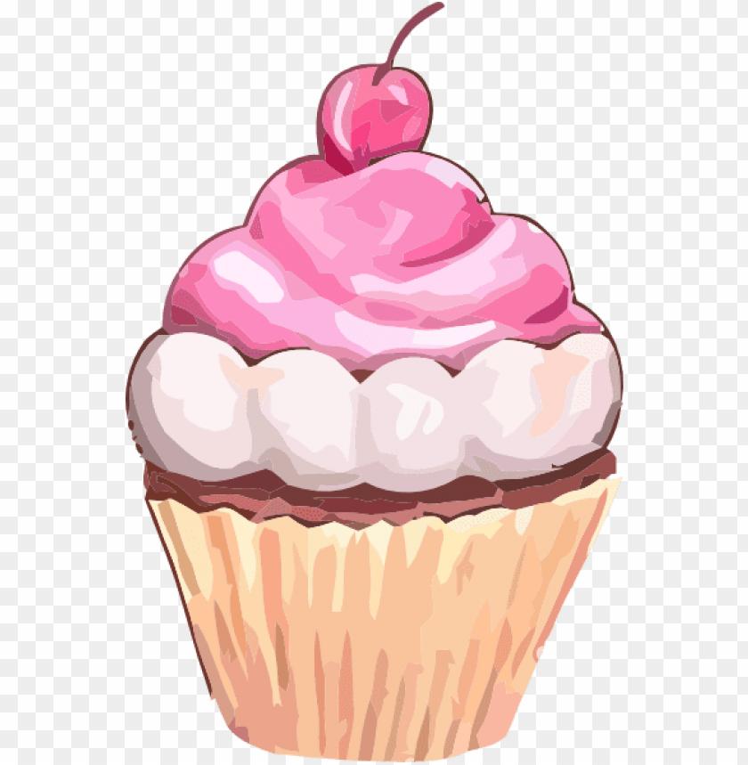 free pink cupcake clip art cupcake png, cupcake clipart.