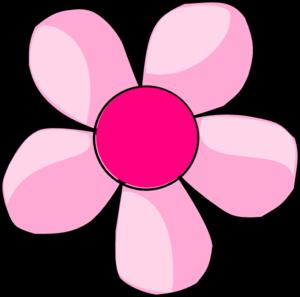 Pink Daisy clip art.