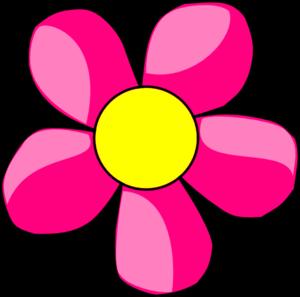 Pink Daisy Clip Art at Clker.com.