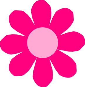 Pink daisy flower clipart free clipart images.
