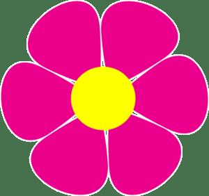 Pink daisy flower clipart 2 » Clipart Portal.