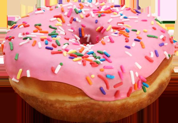 Download Free png Pink Donut PNG File.
