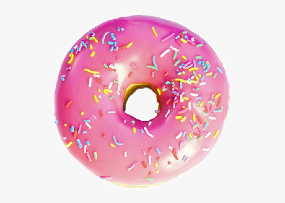 Pink Donut Image Free Clipart Hq.